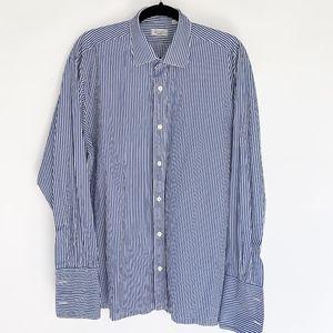 Charvet Bespoke Vertical Striped Shirt